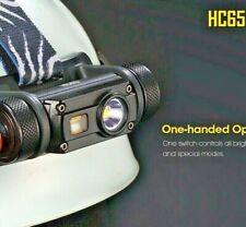 Nitecore HC65 Cree XM-L2 U2  LED 1000lm USB Rechargeable Headlamp waterproof