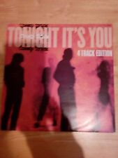 "Cheap trick tonight it's you UK 12"" single pic sleeve gold stamped promo"