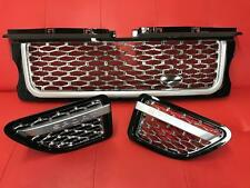 Range Rover Sport 2005-2009 Black & Chrome Autobiography Front Grille Side Vents
