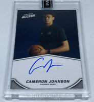 CAMERON JOHNSON 2019-20 Panini Instant Blue Ink On Card Auto Autograph #8/25 RC