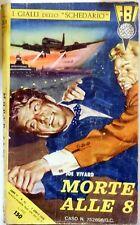 I GIALLI DELLO SCHEDARIO FBI ROMANZO  N.32 1958 JOE VIVARD