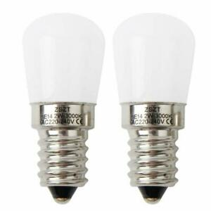 4/2/1x Fridge Bulb led E14 2W Pygmy Lamps 15W Halogen Bulb Equivalent Warm 220V