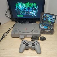 Sony PlayStation 1 Launch Edition Console Bundle (SCPH-1001) w/ 6 games TESTED