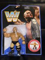 NEW WWE Stone Cold Steve Austin Mattel Retro Series 2 Wrestling Figure Hasbro