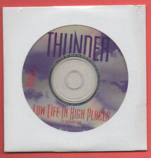 THUNDER-Low Life In High Places rare sealed Promo CD