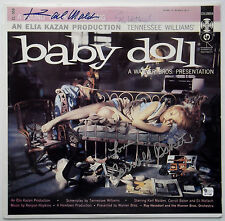 BABY DOLL Cast Signed Album Cover KARL MALDEN CARROLL BAKER ELI WALLACH Rare GAI