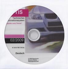 BMW- TIS 02/2009  E81 E30 E34 E63 E32 E31 E30 E83 R50 usw. letzte Version