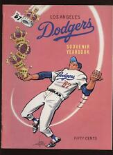 1967 Los Angeles Dodgers Yearbook EXMT+