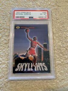 1993 Michael Jordan Upper Deck #466  PSA 6