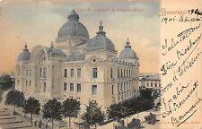 B76688 Romania Bucuresti Casa de depuneri 1901 stampila tren train stamp