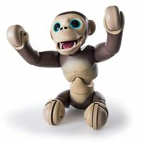 Zoomer Chimp Robot Monkey Ages 5+ Toy Girls Boys Fun Spin Master Voice Command