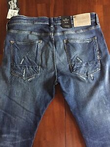"""SCOTCH&SODA THE """"RALSON CHECK MATE"""" REGULAR SLIM FIT JEANS(W34)"""