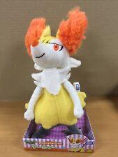 Takaratomy New Pokemon XYN-26 X and Y Braixen/Teruna Plush Doll Figure