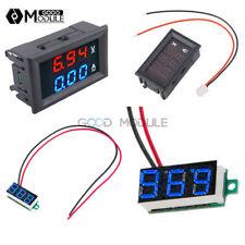 DC 100V 10A Blue+Red LED Dual Digital Voltmeter Ammeter Amp Volt Amp Meter