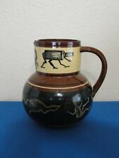 Antique William Brownfield Bass Ale Advertising Bar Pitcher Jug