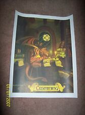 "Coca-Cola McDonalds fantasy school Poster ""Cramming"" by Greg & Tim Hildebrandt"