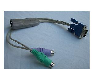 Raritan Paragon P2CIM-PS2 KVM P2CIM PS2 KVM Switch Kabel Module Interface