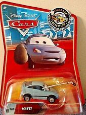 DISNEY PIXAR CARS 2010 FINAL LAP COLLECTION TARGET ONLY #185 MATTI RARE! HTF!