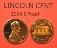 1994 S 1C Proof Lincoln CentBeautiful DCAM Coin