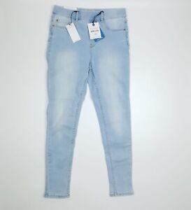 New Look Light Blue Emilee Lift & Shape Skinny Leg Jeggings UK 12 SHORT EU 40