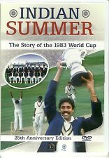 INDIAN SUMMER THE STORY OF THE 1983 WORLD CUP CRICKET DVD - 25TH ANNIVERSARY