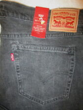 Levis Boyfriend Tapered Leg Womens Black Jeans Size 32 x 26.5 Black Ice