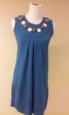 vfish dress size small, NEW, hole starr, blue, #2019