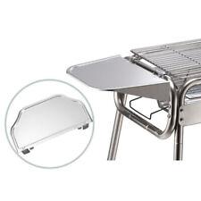 2pcs Aluminum Alloy Charcoal Bbq Grill Side Shelves Shelf Set Accessories