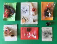 1:12 Scale Dollhouse Miniature HALLOWEEN Items. Rat trap, bat houser, candy jar.