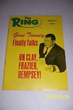 1971 THE Ring GENE TUNNEY Talks HEAVYWEIGHT CHAMPIONS No Label FRAZIER Rocky ALI