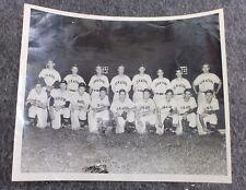 Vintage Original 1948 Jackson Senators Team Photo Baseball MLB Collectible