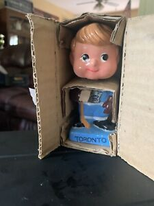 Toronto Maple Leafs Vintage Bobblehead  Mini Hockey Nodder 1962 - ORIGINAL BOX
