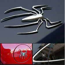 3D CAR STICKER METAL SPIDER  EMBLEM LOGO BIKE MOTORCYCLE LAPTOP ACCESSORY MARUTI