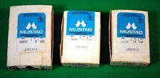 Mustad Fly Tying Hooks 3  PARTIAL  boxes of Salmon Fly  Hooks  36890