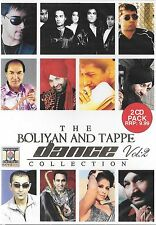 THE BOLIYAN AND TAPPE DANCE COLLECTION - VOL 2 - BRAND NEW BHANGRA 2CDs SET