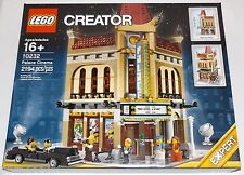 LEGO Palace Cinema 10232 creator movie theatre 6 minifigures corner building