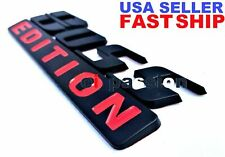 BOSS EDITION Mate Black Fit All Cars Truck CUSTOM EMBLEM Rear Tailgate Symbol