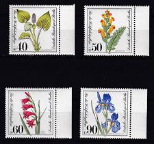 lot timbres Allemagne Berlin fleurs 1981 Neufs**