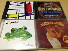 SILVERCHAIR 4-DISCS: YOUNG MODERN, NEON BALLROOM, FROGSTOMP, ABUSE ME (SINGLE)