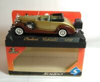 SOLIDO 1:43 AGE D'OR PACKARD CABRIOLET - GOLD / BROWN - #4099 - BOXED