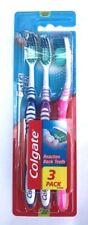 3 Pack Colgate Extra Clean Toothbrush Medium Bristles Soft Grip Tooth Brush F&F