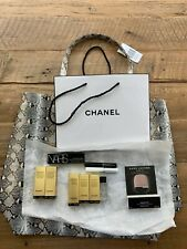 NEW SAKS CHANEL and other Beauty samples plus 2 bags 12 beauty make up