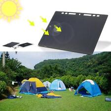 10W Paper Shaped Silicon Solar Panel Charger USB Cell Phone Camping Riding I8G6