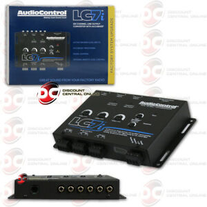 Audiocontrol LC7i 6 Channel Line Output Converter With Accubass