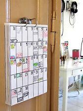 Din a3 calendario Aug 2017-Jan 2019 calendario de pared (18 meses duración).