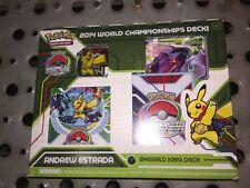 Pokémon 2014 World Championship Deck Emerald King For Card Game TCG CCG