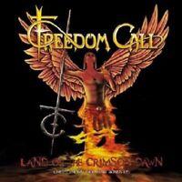 FREEDOM CALL - LAND OF THE CRIMSON DAWN Limeted. 2 CD NEU