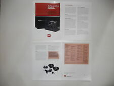 Jbl Brochure 1981 4355 Studio Monitor Pro Series, 4 pages, Articles, Specs