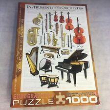 EuroGraphics Instruments of the Orchestra Jigsaw Puzzle 1000 Pieces Family Fun!