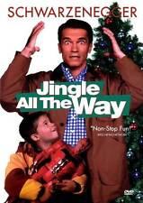 JINGLE ALL THE WAY Movie POSTER 27x40 B Arnold Schwarzenegger Phil Hartman